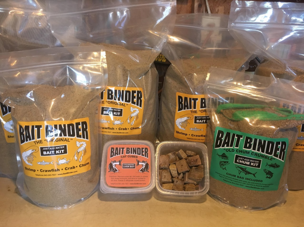 bait binder products