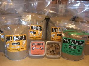 bait binder products